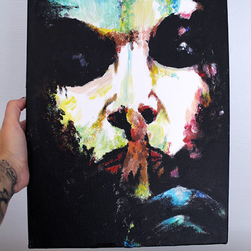 Carper Ink Ozzy Painting