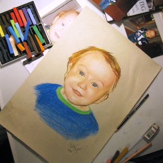 Carper Ink Child Portrait