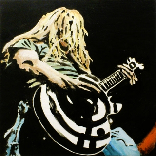 Carper Ink Zakk Wylde Painting