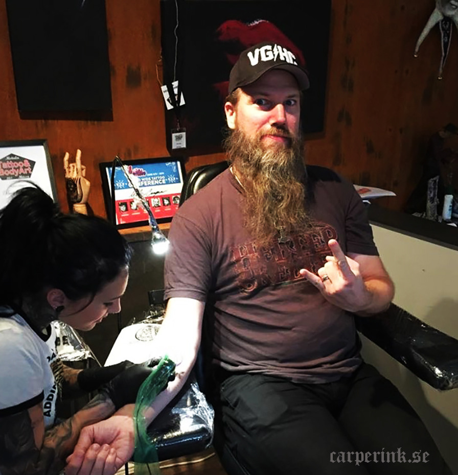 Carper Ink Amon Amarth Singer