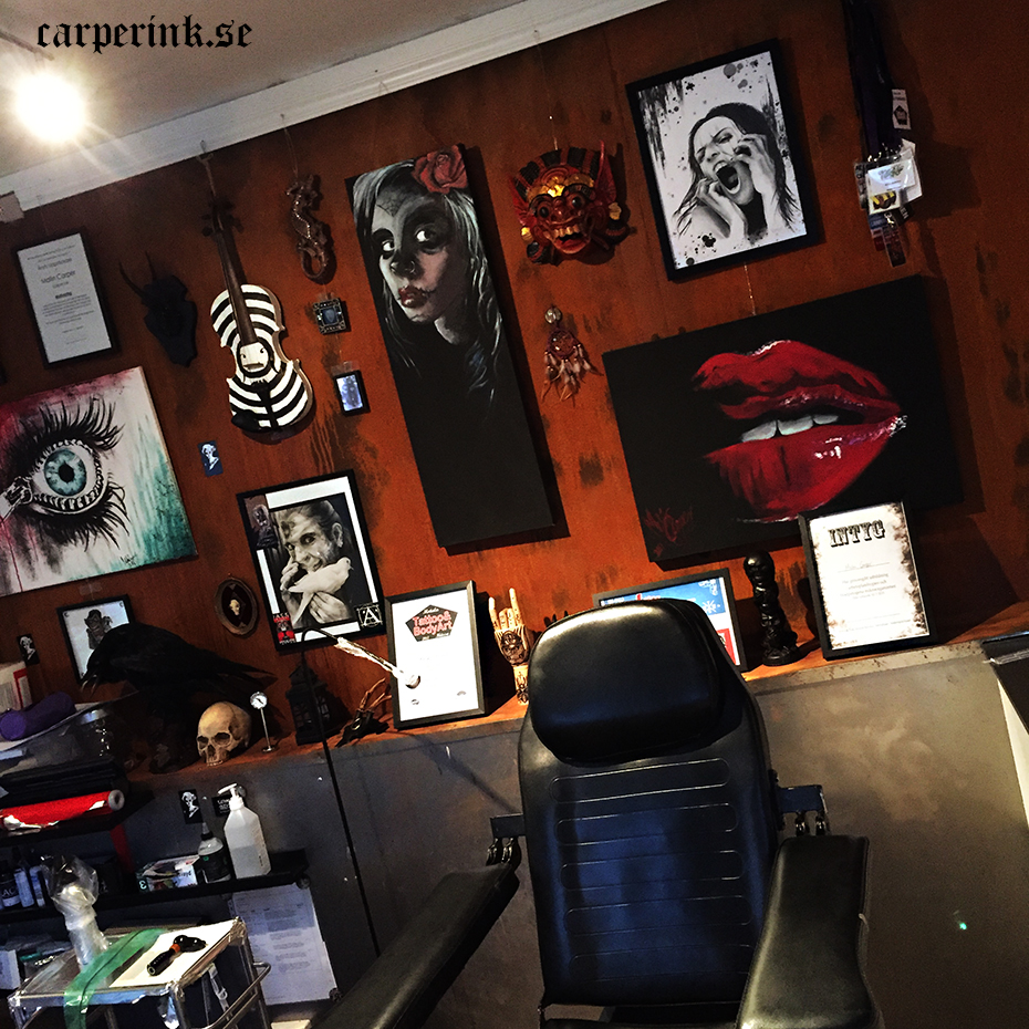 Carper Ink Booth Elite Artwork