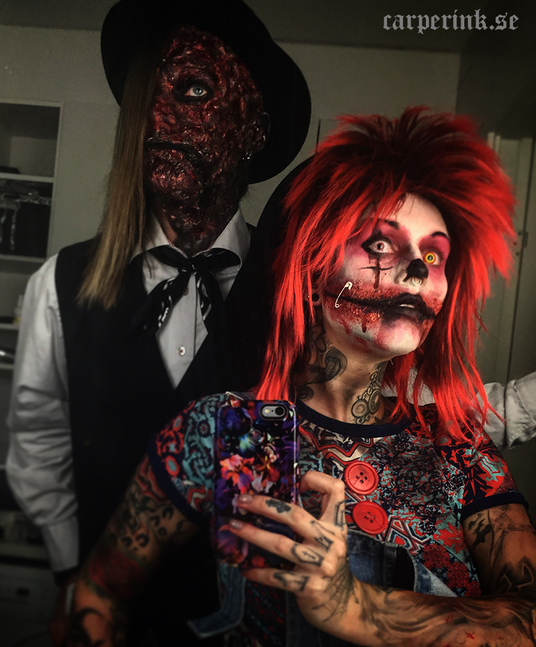Carper Ink Halloween Party 2015 home made