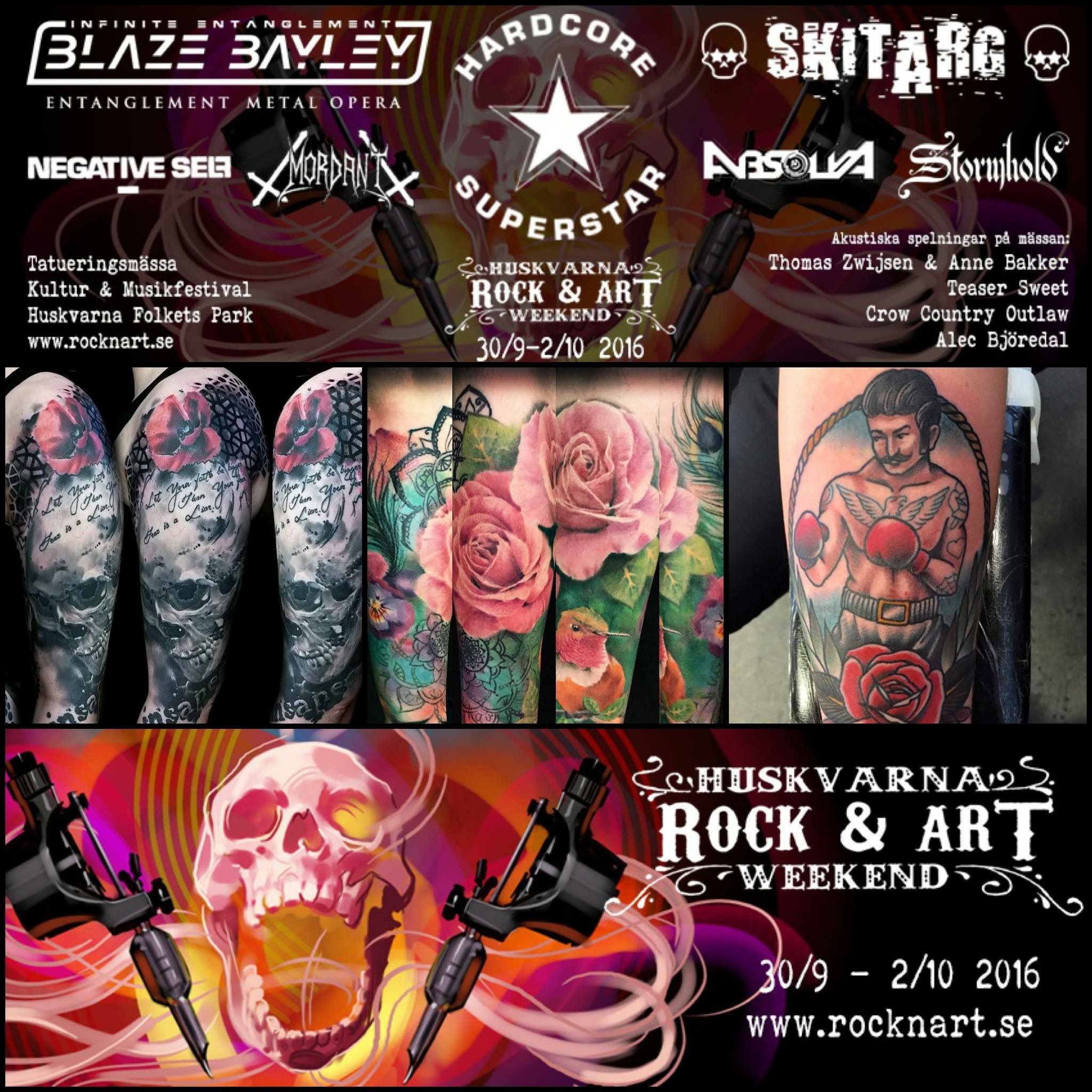 Carper Ink Huskvarna Rock and Art