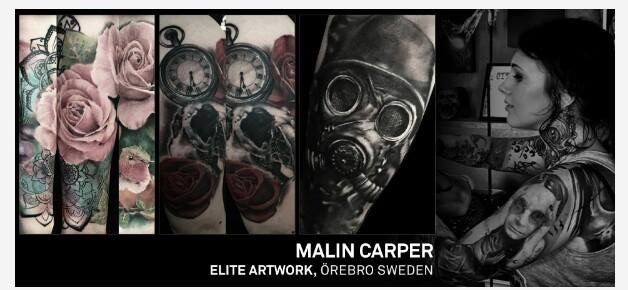 Carper Ink Örebro Tattoo Expo Elite Artwork