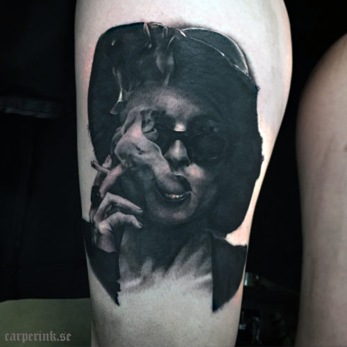 Carper Ink Marla Fight Club Tattoo