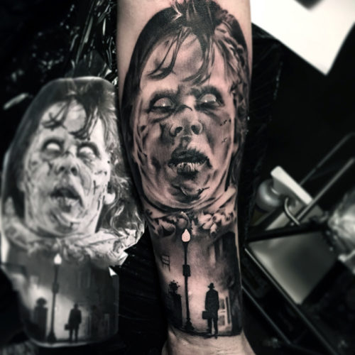 Carper Ink The Exorcist Tattoo