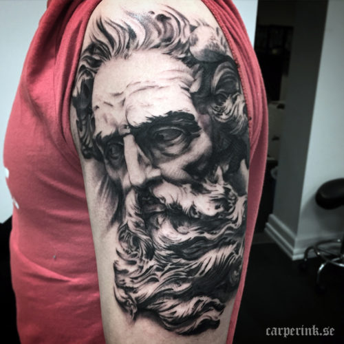 Carper Ink Zeus Tattoo